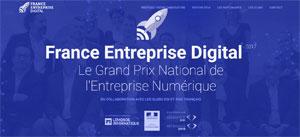 Concours France Entreprise Digital 2017 : les candidatures sont ouvertes !