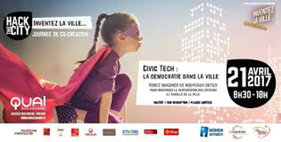 Les 4 rendez-vous Hack the City