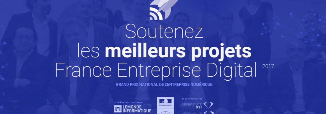 Concours France Entreprise Digital 2017 : soutenez les projets innovants d'Occitanie