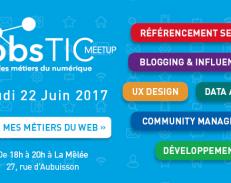 JobsTIC Meet-up : « Vis mes métiers du web »