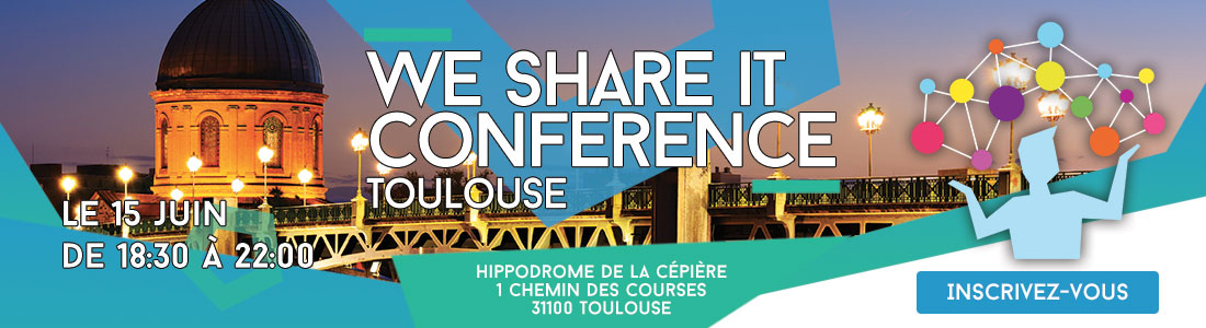 15 juin : We Share IT Conference