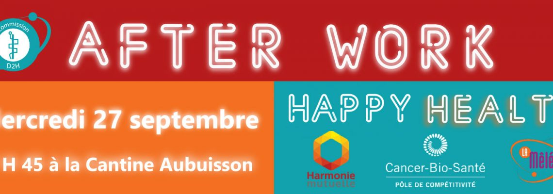 27 septembre: After Work Happy Health
