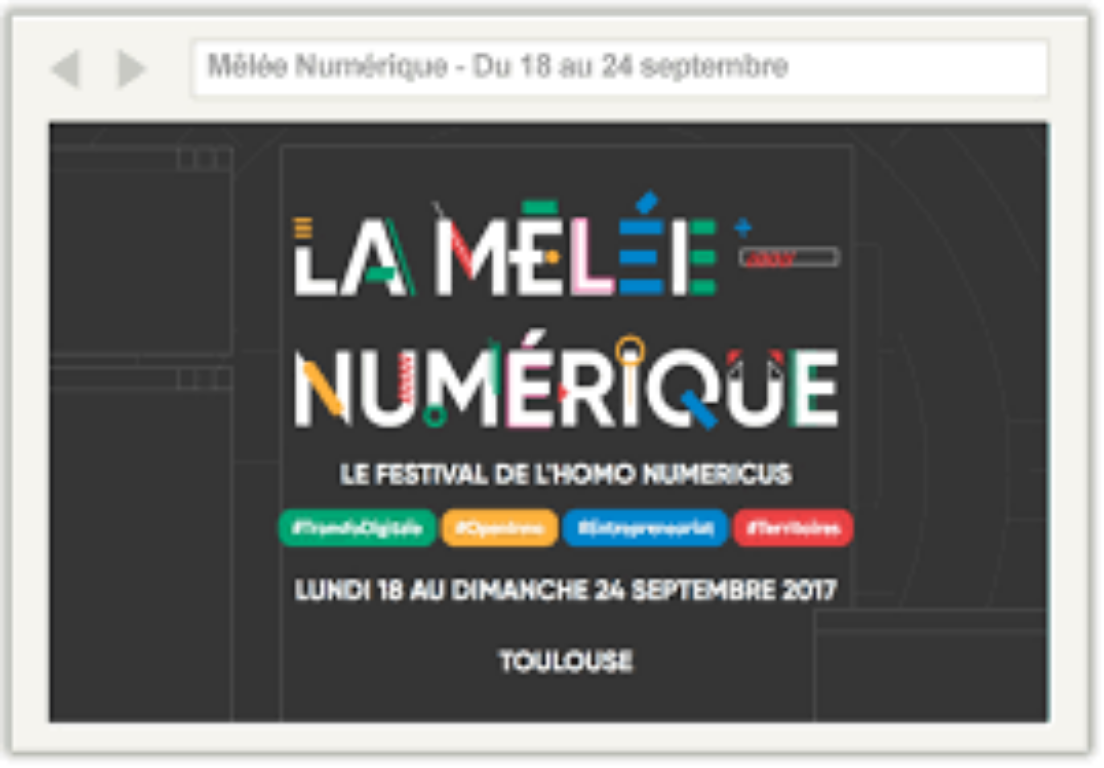 Mêlée Numérique 2017 : un début en fanfare!