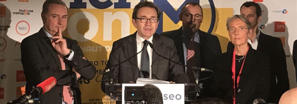 Toulouse: un métro 100 % connecté en très haut débit mobile
