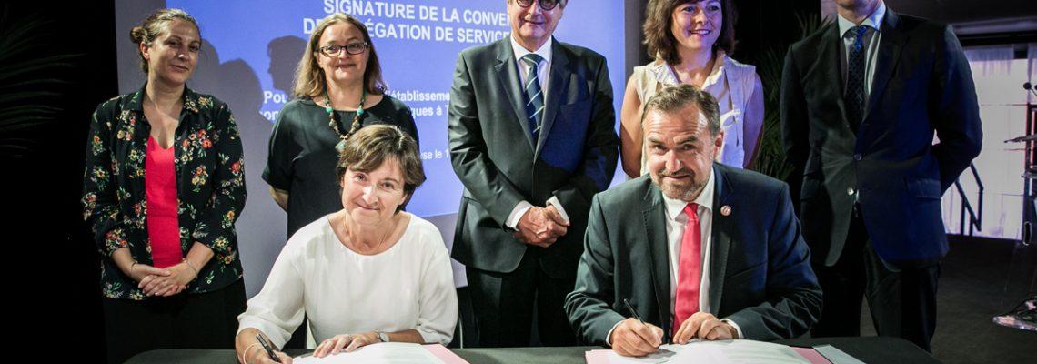 Haute-Garonne: signature de la délégation de service public pour le déploiement de la fibre