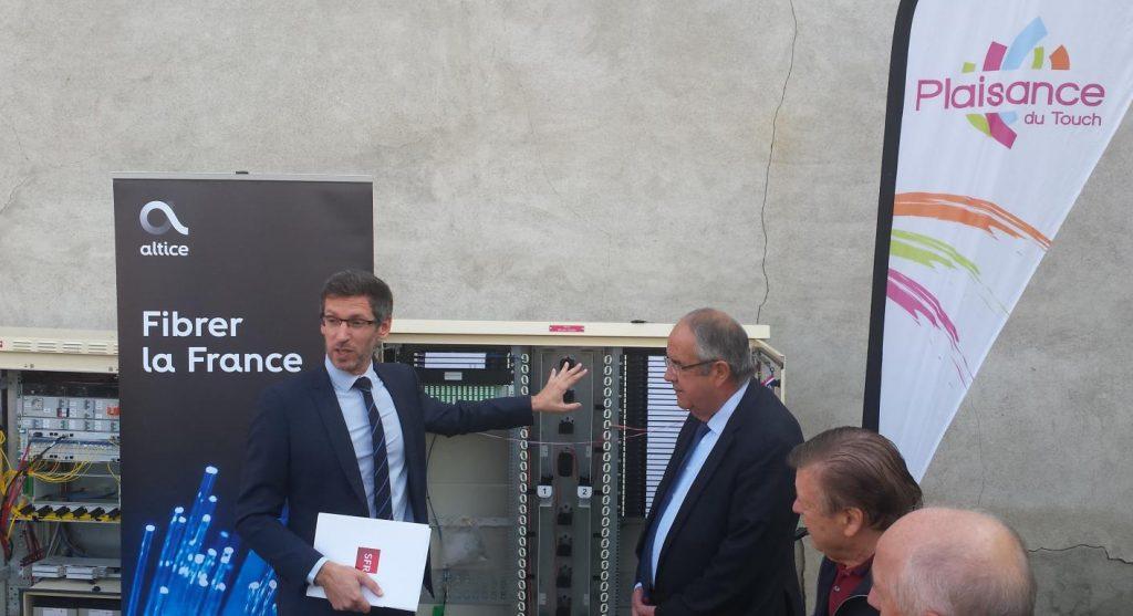 La ville de Plaisance-du-Touch et SFR annoncent l'arrivée de la fibre optique