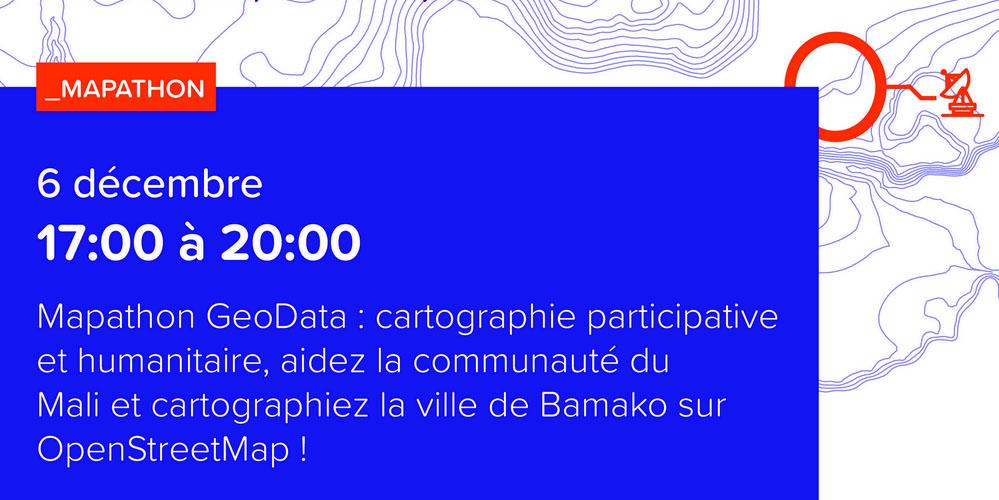 Le Mapathon redessine Bamako