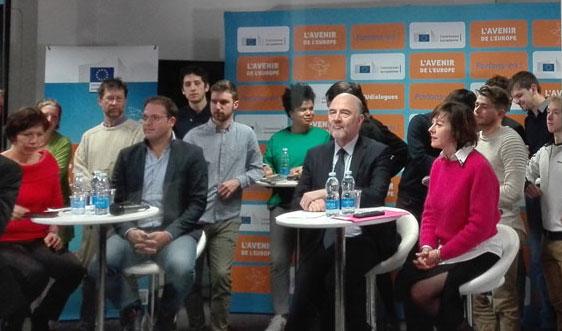 La Cantine Toulouse reçoit  Carole Delga et Pierre Moscovici