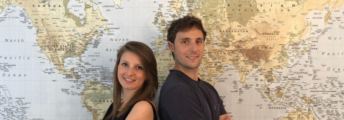 Clean tech: deux toulousains entament un tour du monde des projets