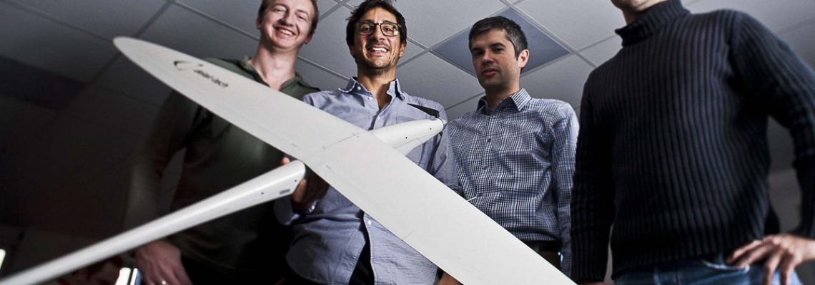 Drones: Delair s'offre l'américain Airware
