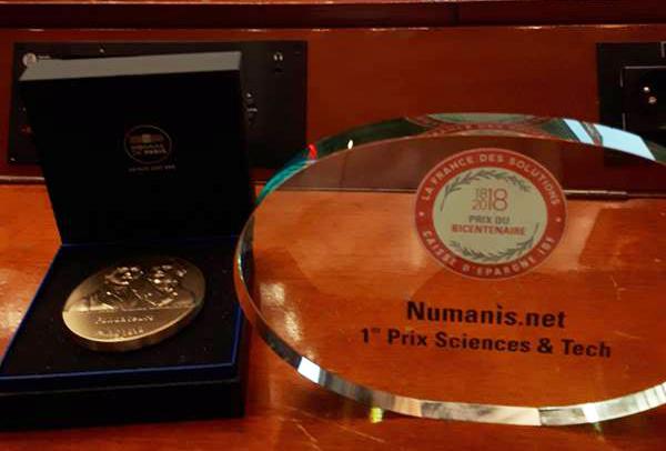 La Startup tarnaise Numanis reçoit le Prix de la France des Solutions