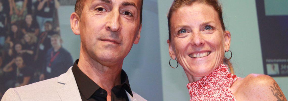 Aurélie Julien et Patrice Cazalas forment le couple numérique de l'année