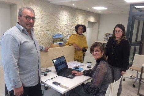 La Cellule, l'ancienne gendarmerie de Cuq-Toulza reconvertie en espace de coworking