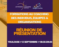 Toulouse le 12 septembre : formation au coaching