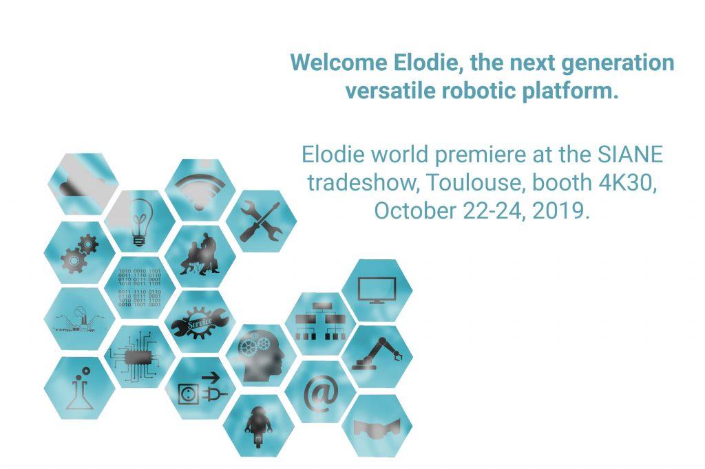 WYCA lance ELODIE, un robot mobile à navigation autonome