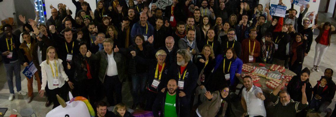 Le projet «Aidons-nous» remporte le 5ème Startup Weekend Perpignan