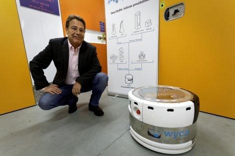 L'entreprise de Toulouse Wyca lance son robot à navigation autonome