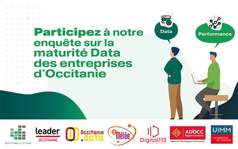 Datasulting lance une enquête sur la maturité data des entreprises d'Occitanie