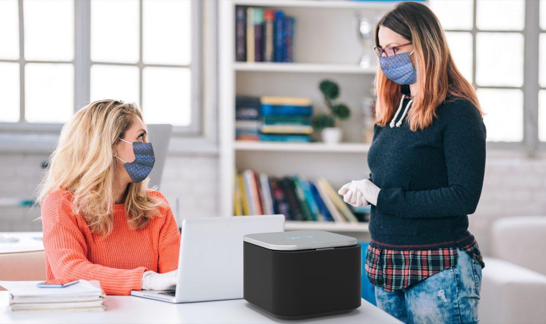 La start-up occitane T.zic désinfecte vos masques et objets par diodes LED UV