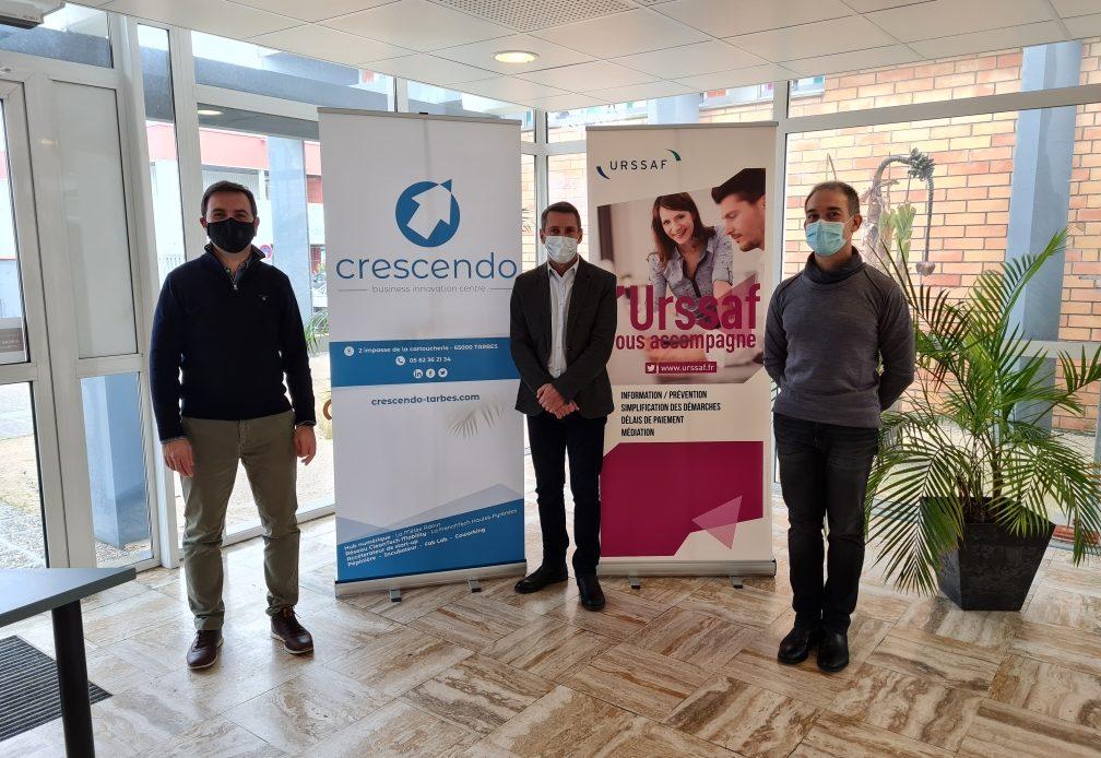Le BIC Crescendo et l'Urssaf Midi-Pyrénées se mobilisent pour accompagner les entreprises innovantes des Hautes Pyrénées