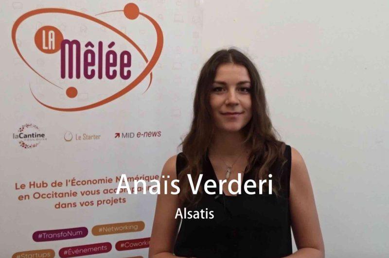 Les Interviews de la MN – Anaïs Verderi, Directrice Commerciale chez Alsatis