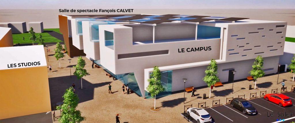 La Cité Digitale du Soler inaugure 4000 m2 de bâtiments pour L'Idem Campus et l'Espace Culturel François Calvet